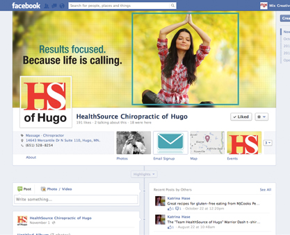 Facebook Page design and social media strategy